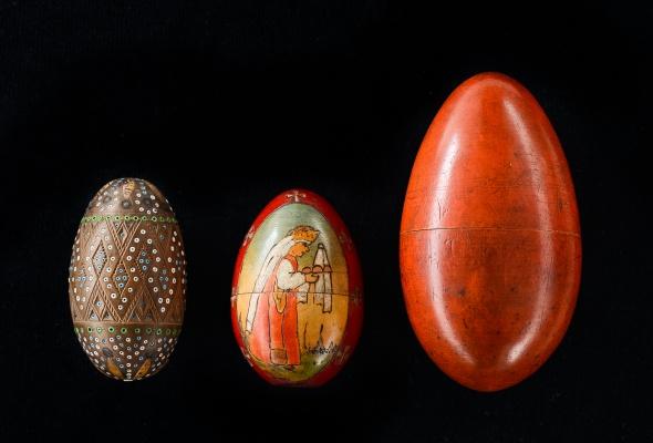 Выставка деревянных пасхальных яиц XIX - XXI вв.  - Фото №5