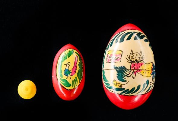Выставка деревянных пасхальных яиц XIX - XXI вв.  - Фото №4