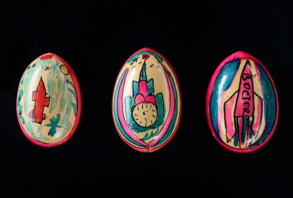Выставка деревянных пасхальных яиц XIX - XXI вв.  - Фото №3