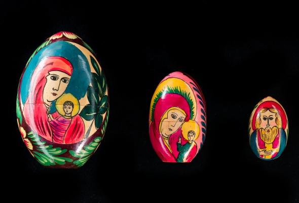 Выставка деревянных пасхальных яиц XIX - XXI вв.  - Фото №2