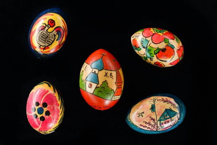 Выставка деревянных пасхальных яиц XIX - XXI вв.