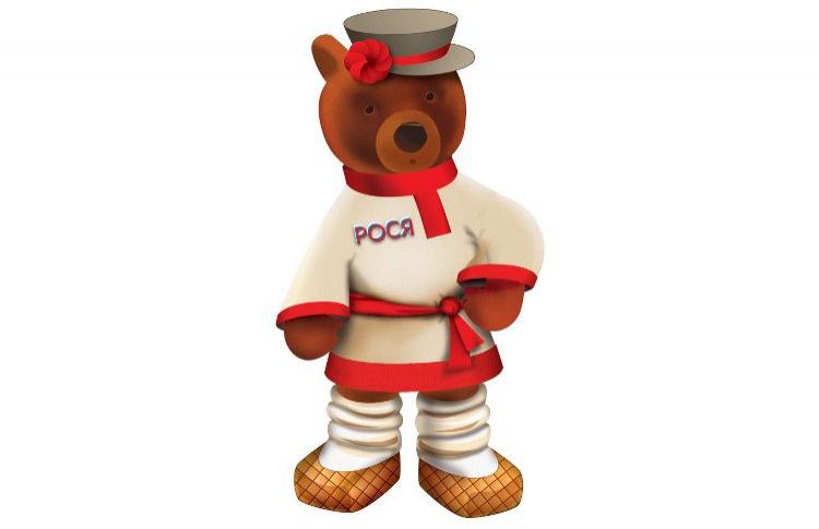 Символом Детского магазина на Лубянке стал медвежонок Рося