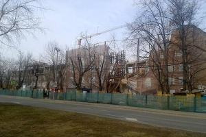 В Москве снесли еще один памятник архитектуры