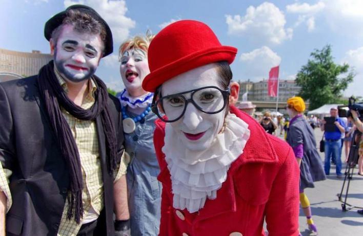 На Чистопрудном бульваре поставят «Клоунский аквариум им. 1 апреля»