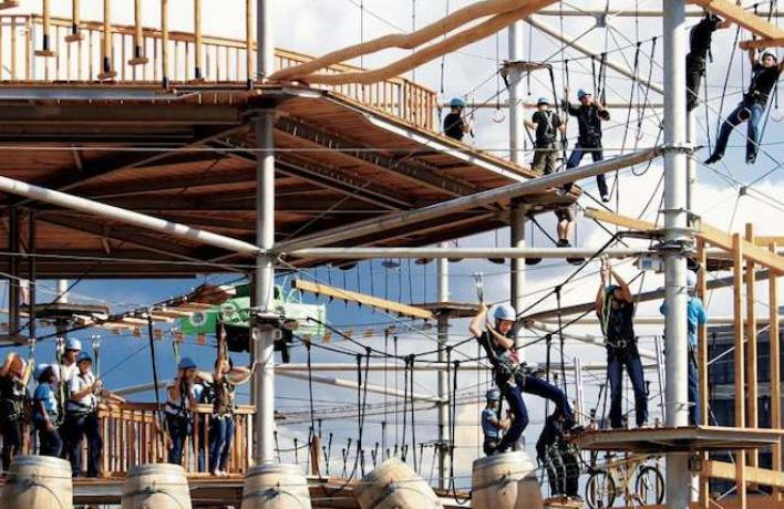 На ВДНХ откроют огромный веревочный парк