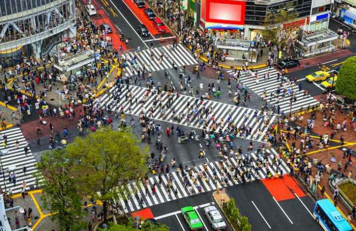 На перекрестках появятся диагональные «зебры»