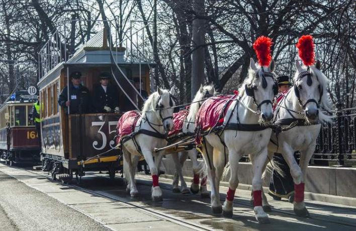 В субботу на Чистых прудах устроят парад трамваев