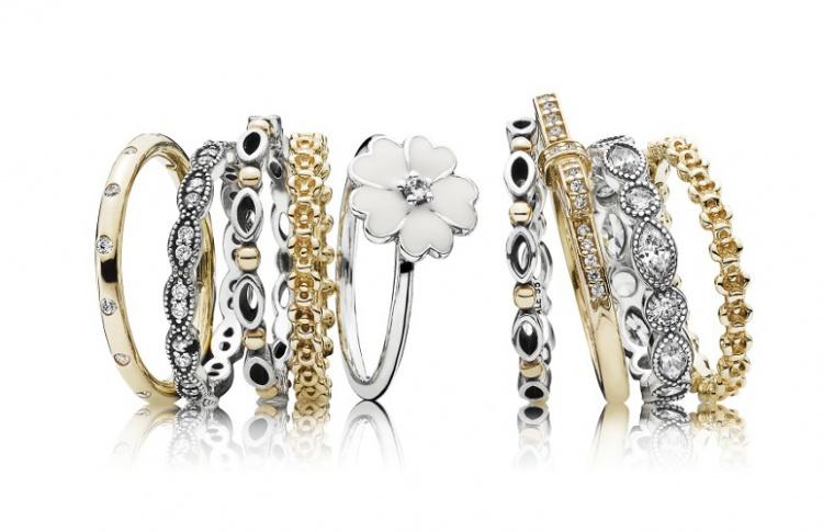 Три кольца Pandora по цене двух