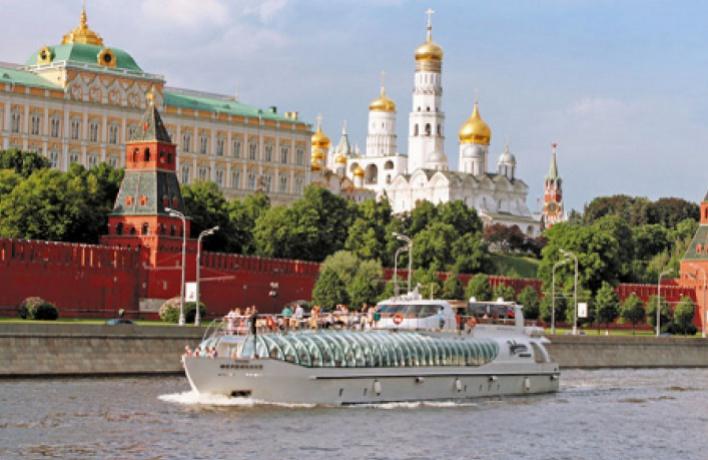Открывается пассажирская навигация на Москве-реке