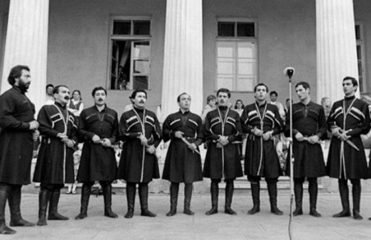 Концерт грузинского мужского хора
