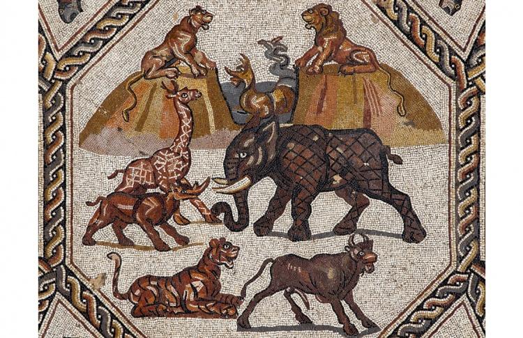 Немеркнущие краски. Римская мозаика из Лода