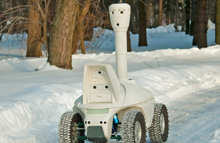 Границы ВДНХ станут охранять роботы
