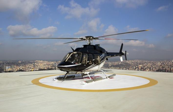В Новой Москве появятся площадки для вертолетов-такси
