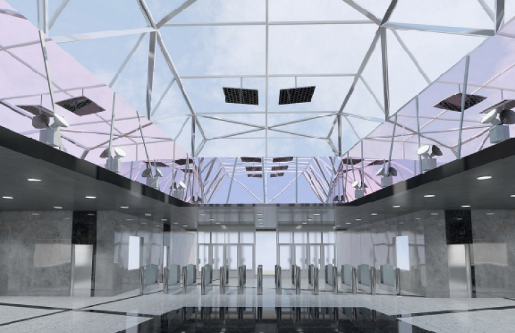 Станцию «Технопарк» откроют в ноябре