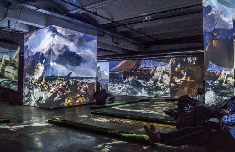 Айвазовский и маринисты – живые полотна