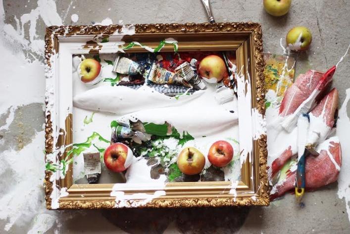 Эмбарго: продовольственная живопись