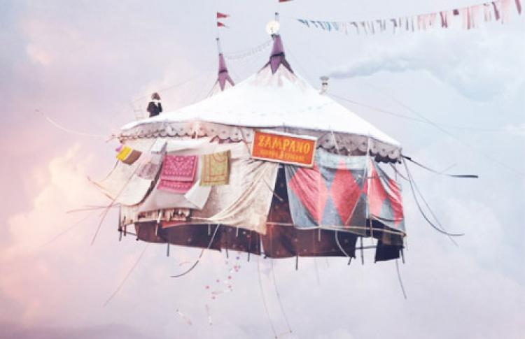 Воздушные миры Лорана Шеера