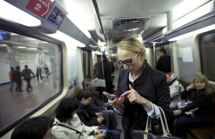 Пользователям wi-fi в метро предлагают отключить рекламу