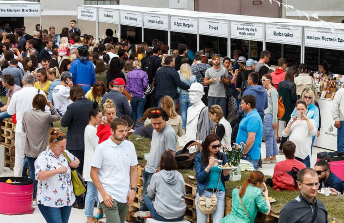 Городской маркет еды анонсировал расписание на лето