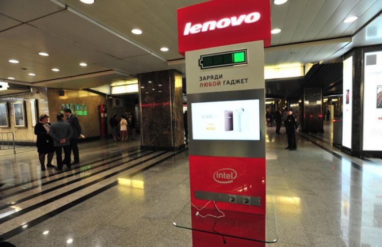 На станции «Выставочная» теперь можно зарядить телефон