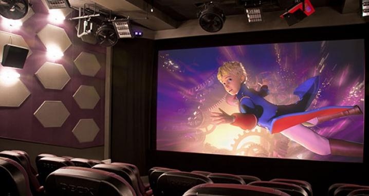 4D-кинотеатр в Планетарии