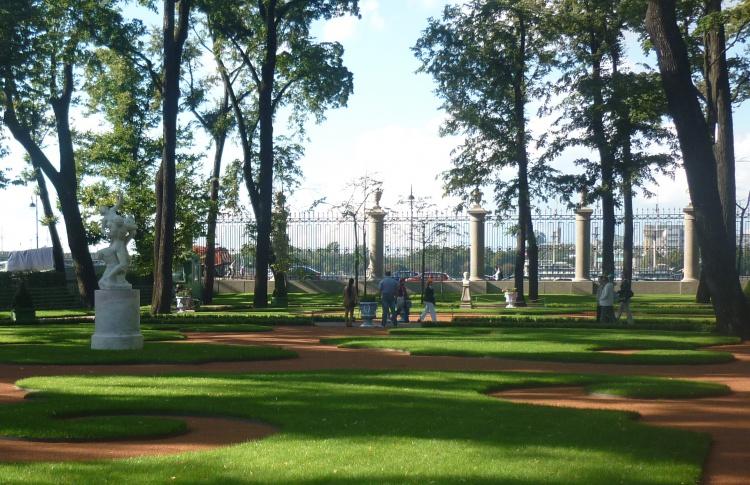 Открытие сезона фонтанов в Летнем саду