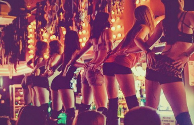GRAND REOPENING COYOTE UGLY MOSCOW!!!