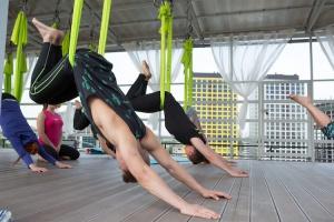 Танцы и фитнес на крыше Дома Наркомфина начнутся 1 июня