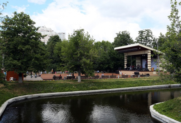 Парк на Красной Пресне - Фото №0