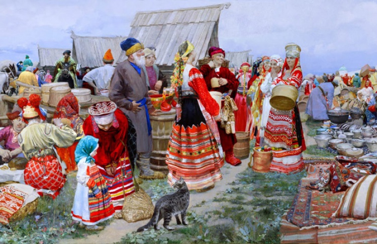 Летняя арт-барахолка на Невском, 20