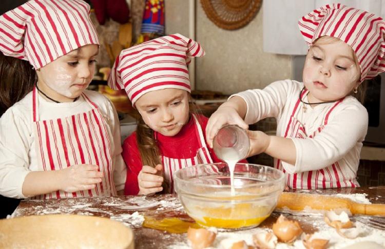 Кулинарный мастер-класс на летней детской веранде SHAKTI TERRACE