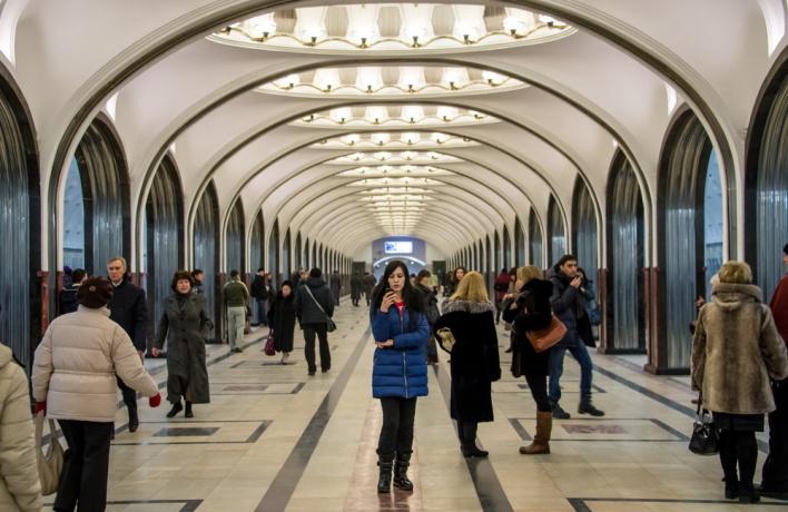 Wi-fi может появиться на станциях метро
