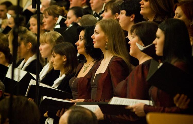 Камерный хор Смольного собора