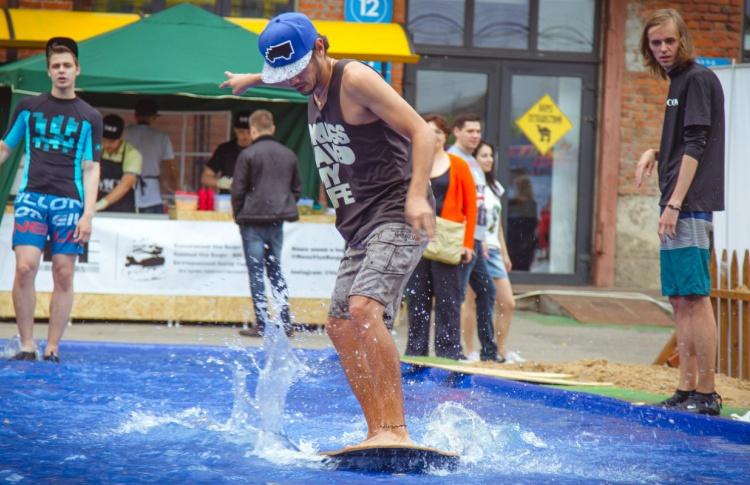 На «Флаконе» появятся пляж, серферский бар и ским-парк
