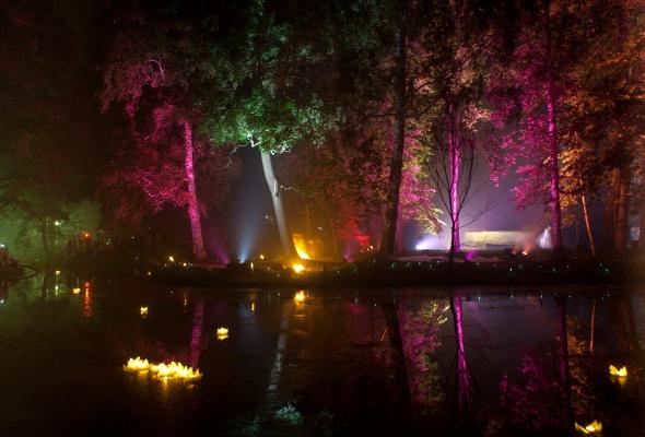 Ночь света в Гатчине - Фото №3