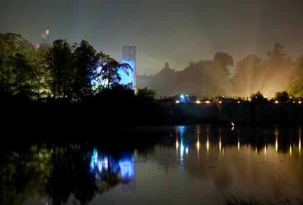 Ночь света в Гатчине - Фото №1