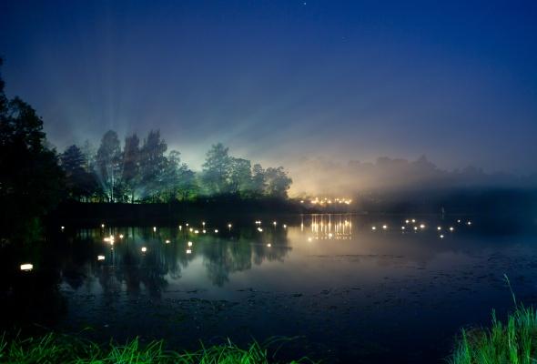 Ночь света в Гатчине - Фото №0