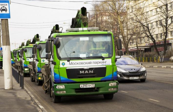 Москва прекращает частный бизнес на эвакуаторах