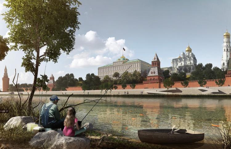 На Москве-реке можно будет рыбачить и купаться