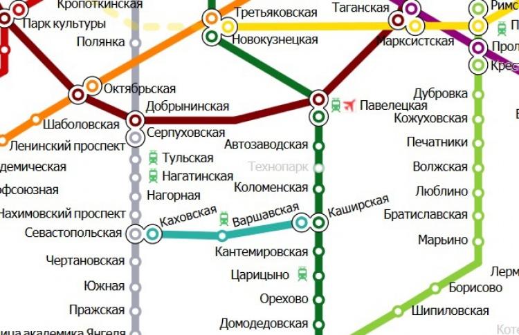 В субботу закроют движение на юге Замоскворецкой ветки