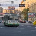 Автобусы и троллейбусы в городе стали обстреливать в два раза чаще