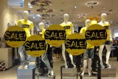 Тотальная распродажа в 38 московских магазинах