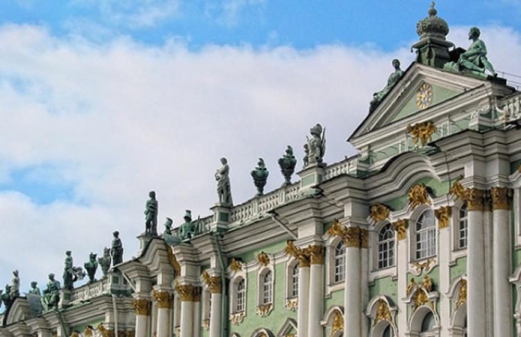 Двор Зимнего дворца
