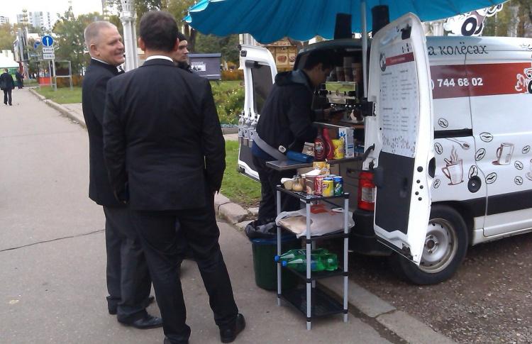Продавцам кофе «с колес» придется получать лицензии