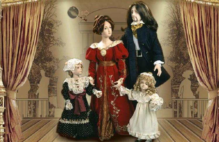 Галерея кукол Анастасии Чижовой