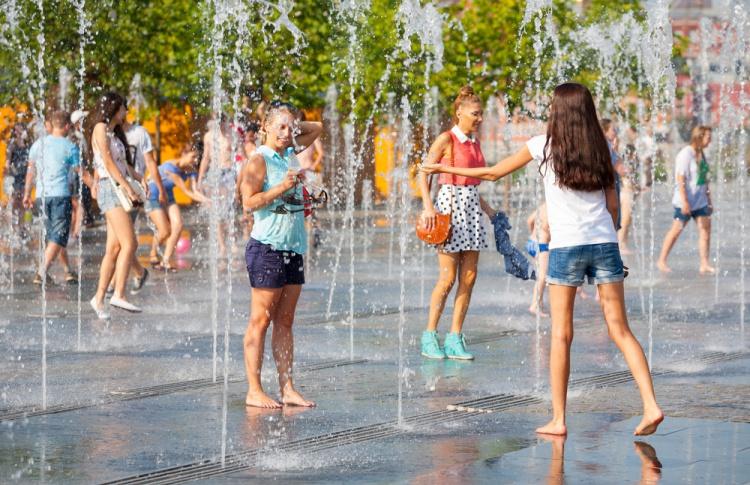 Выходные окажутся самыми жаркими в году