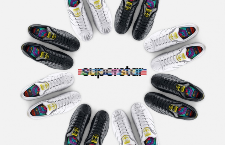 Сегодня стартовали продажи кроссовок Adidas Originals Supershell