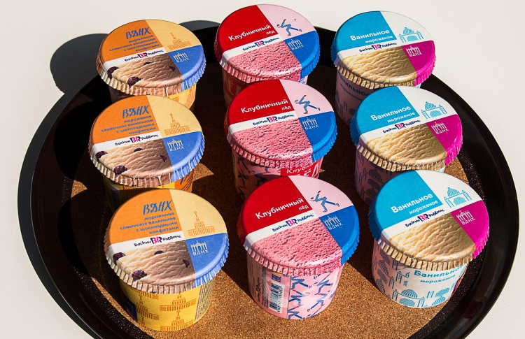 ВДНХ выпустила новую коллекцию мороженого