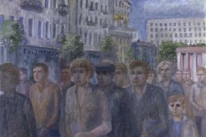 «Люди в городе» в ГЦСИ: про одиночество в городской толпе