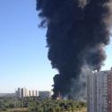 Пожар в Марьино случился из-за аварии на нефтепроводе Рязань-Москва